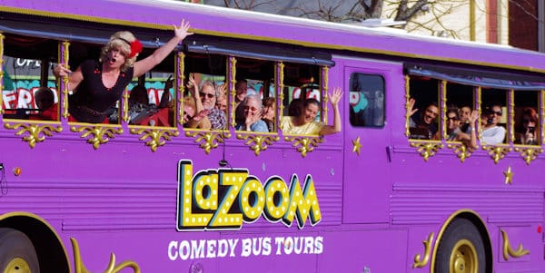 Lazoom Comedy Tour Bus